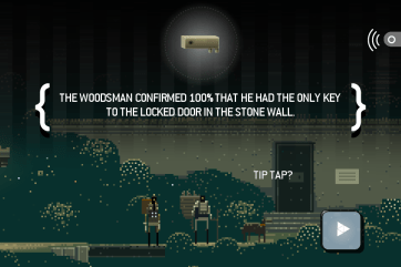 Superbrothers: Sword and Sworcery is a delightful visual and auditory adventure.