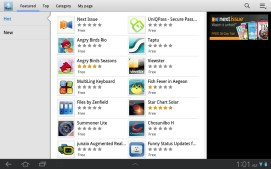 Samsung's highly redundant app store.
