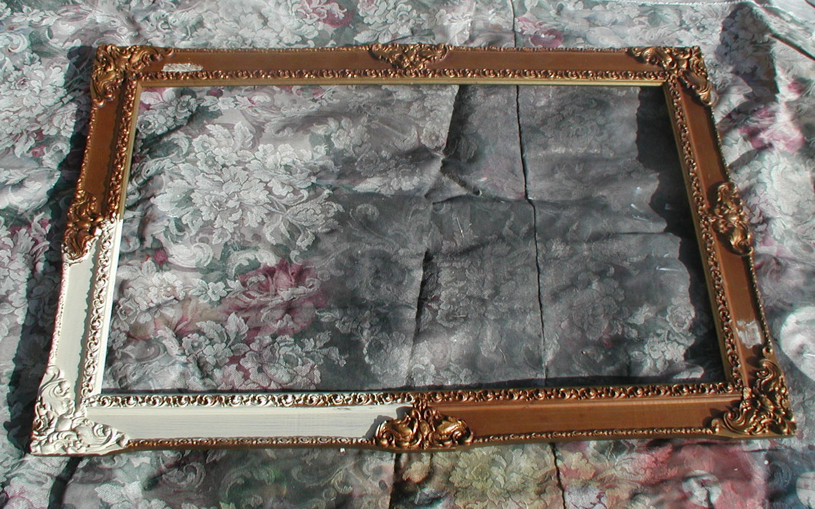 Project: Silver Foiling A Mirror Frame