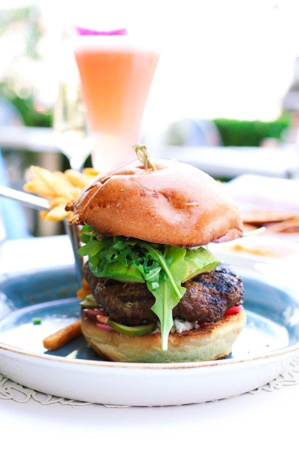 Lamb Burger in LA