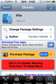 Download torrents and watch movies on Iphone or Ipad - On The Edge!