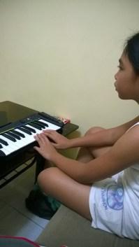Joy on Rock Band 3 Pro Keyboard