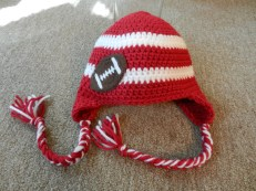 Striped Football Hat