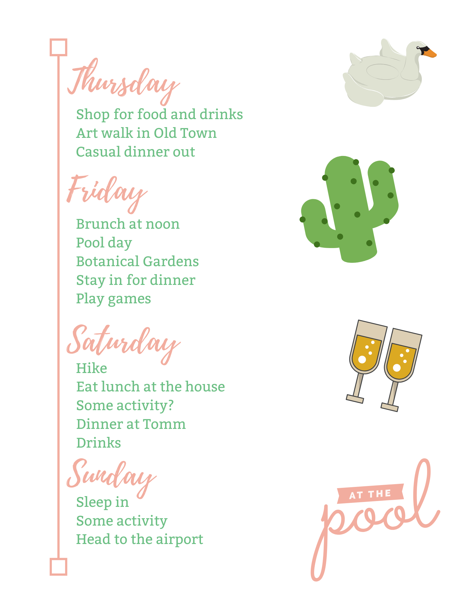 Scottsdale Bachelorette schedule 2