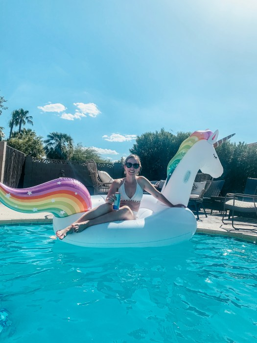 Scottsdale Bachelorette pool floatie