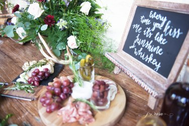 Simply Sianne Calligraphy and Design - Hand Lettered Design Services - Rustic Chic Wedding
