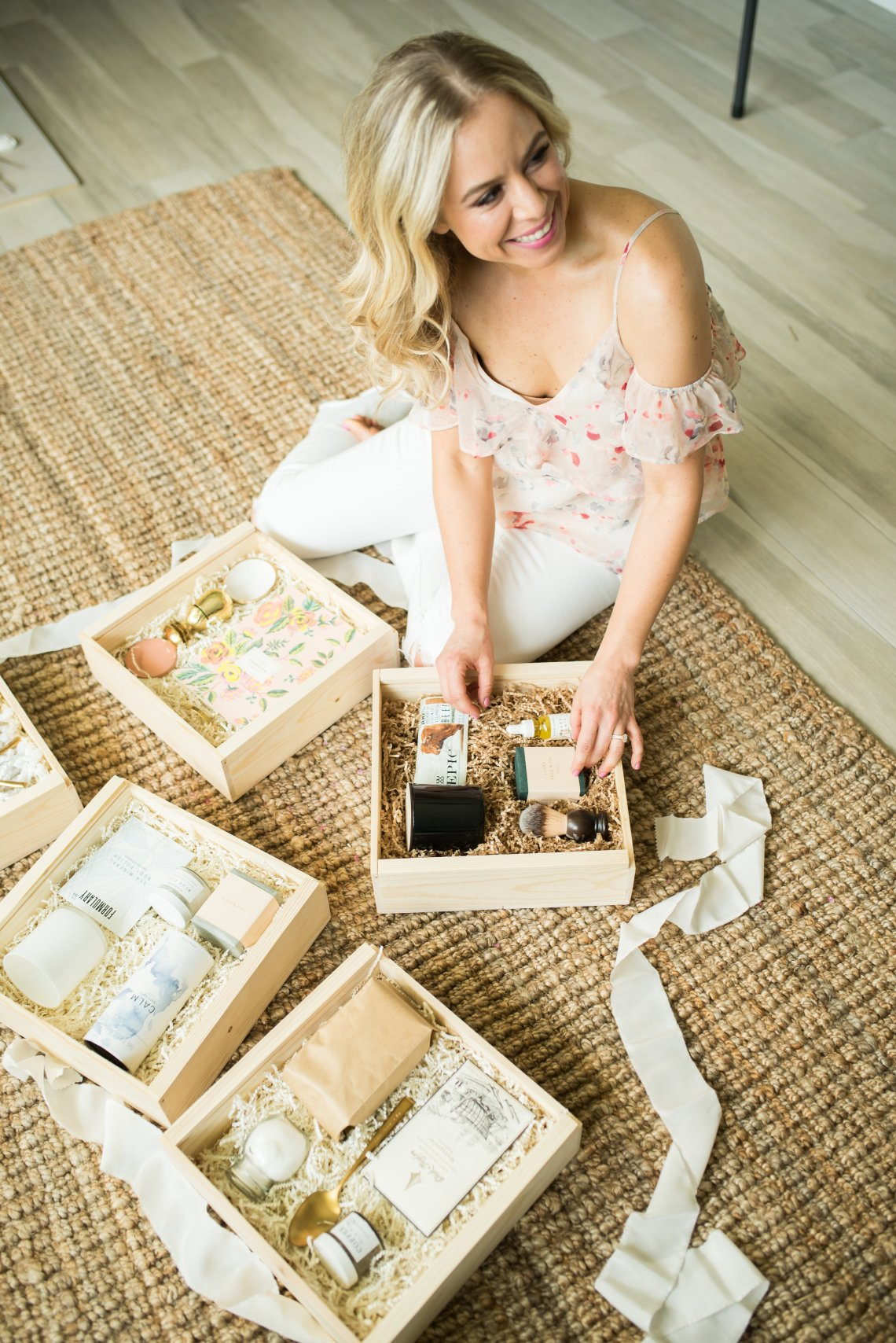 Naomi Martin launches new business - The Presence Co! A curated gift box that focusing on giving back.