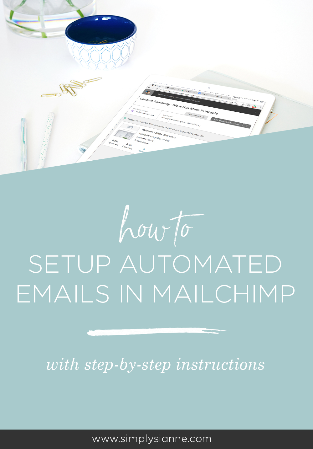 Build your email list and automate your campaigns. Learn how to setup Mailchimp automation campaigns with step-by-step instructions.
