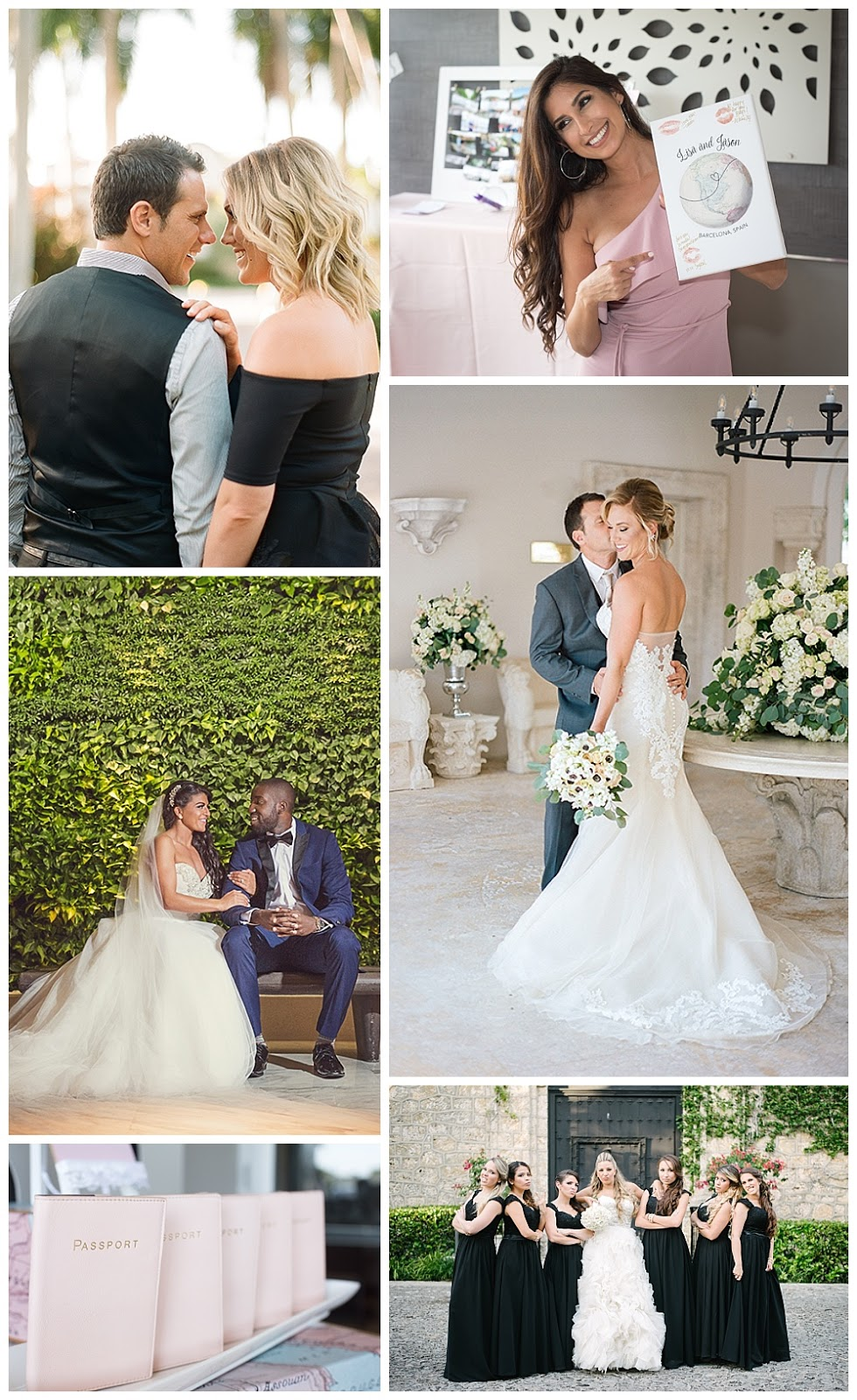 Oh My! Occasions is a wedding planner, designer and event stylist in the South Florida area   Showcasing her beautiful couples and events in her brand new site launch!