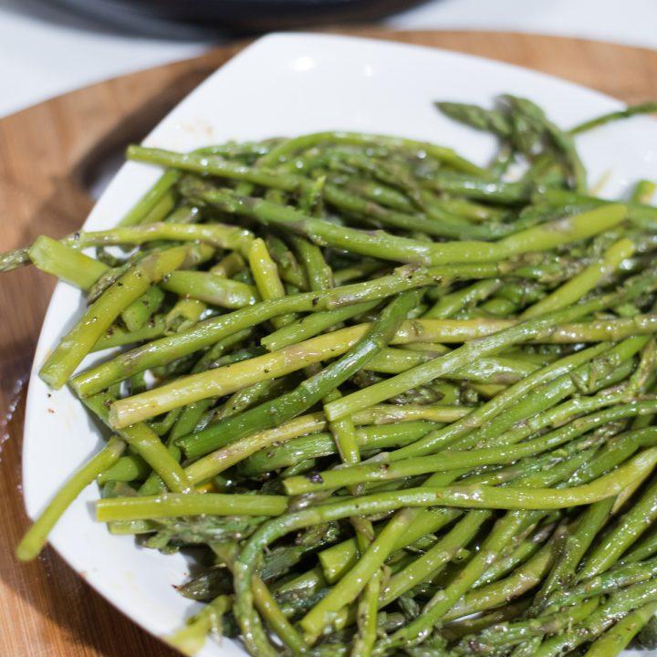 Instant Pot Asparagus with Lemon Butter