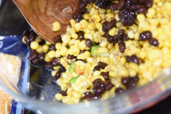 corn and black bean mixture