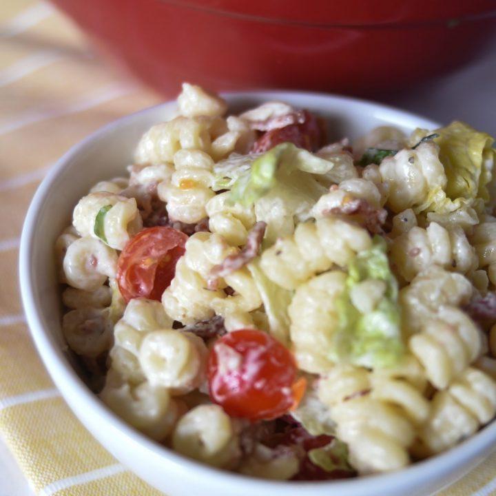 5 Ingredient BLT Pasta Salad