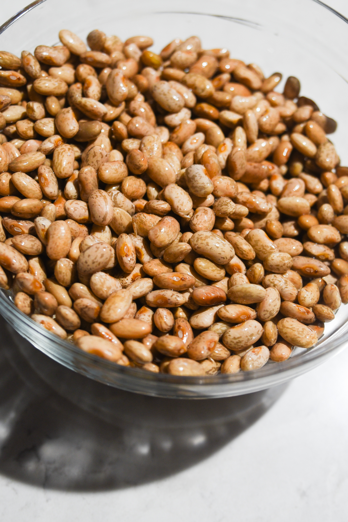 rinsed pinto beans