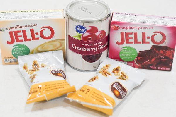 ingredients for thanksgiving jello
