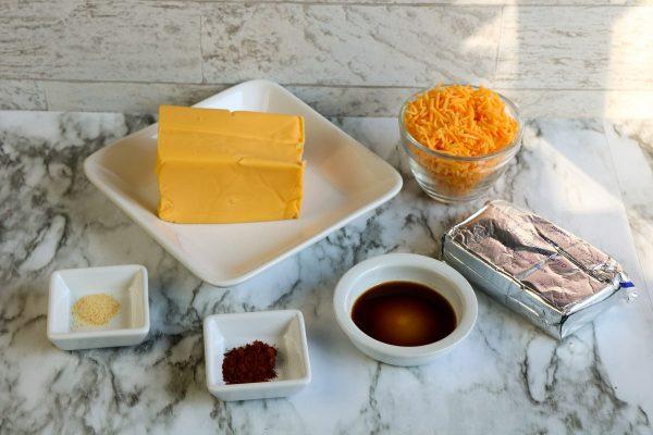 ingredients for halloween cheeseball
