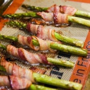 oven baked bacon asparagus