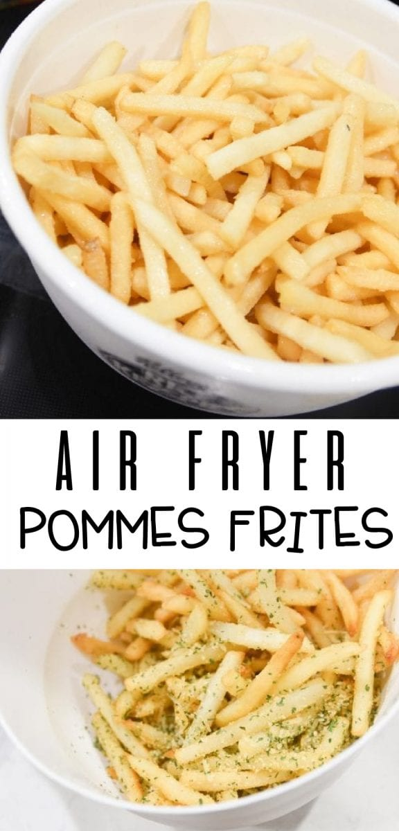 Air Fryer Pommes Frites (Disneyland Copycat) via @simplysidedishes89