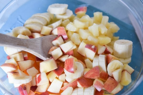 fruit mixed in a bowl