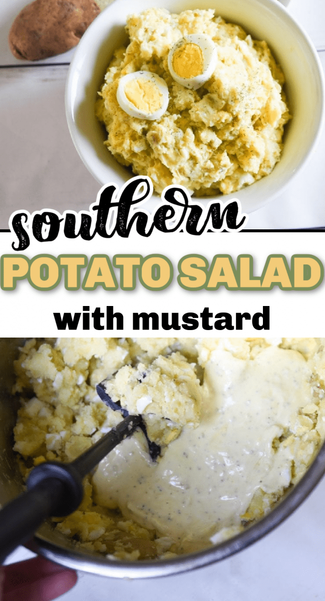 There are few things better than a good potato salad recipe, and this Southern Potato Salad is full of amazing flavor. This easy mustard potato salad recipe is simple to prepare and even easier to eat! You'll be asked for this recipe over and over and for tips on how to make a southern potato salad after every gathering you take this to! via @simplysidedishes89