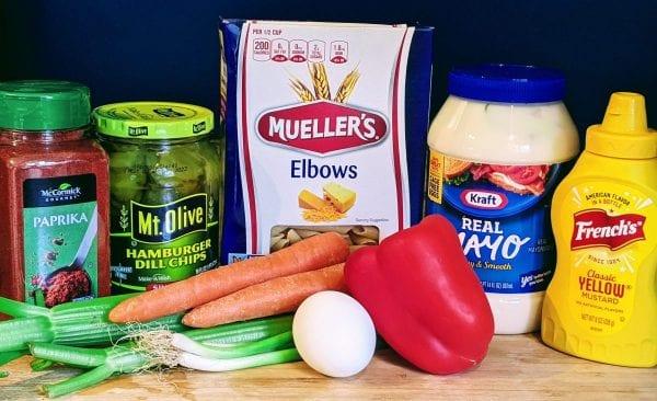 amish macaroni salad ingredients
