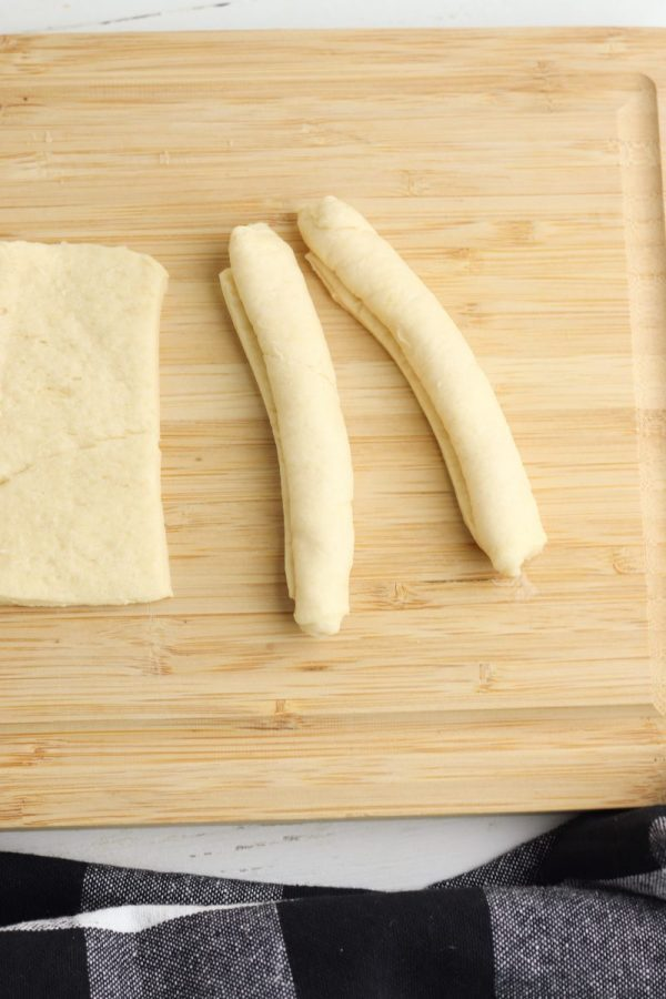 rolled crescent rolls