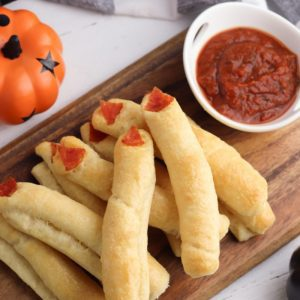 halloween breadsticks