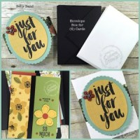 Botanical Garden Gift Box of Cards -February 2016 Let's Get Creative - get a free video & written tutorial with any $20 order when you use Host Code TMGUW9S9 at www.SimplySimpleStamping.com