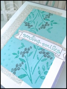 Stampin' Gals Gone Wild Weekend Challenge for February 19, 2016 - check it out at www.SimplySimpleStamping.com