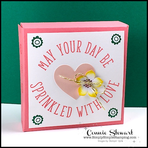 May 2017 Paper Pumpkin – Sprinkled with Love Cookie Box