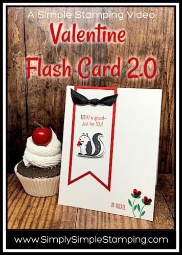 Adorable Valentine Greeting   Flash Card 2.0 Card