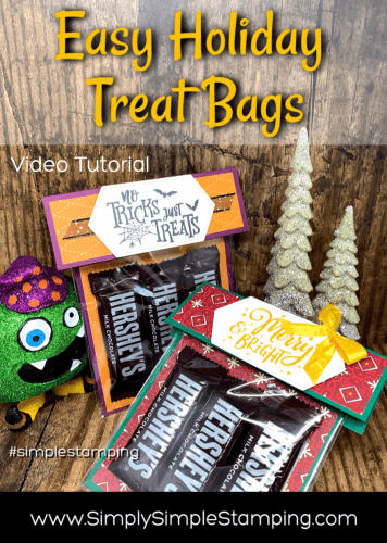 Holiday Treat Bags that You Can Make in 5 Quick Minutes