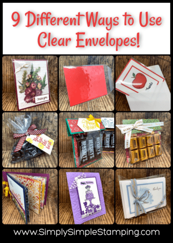 9 Ways to Use Clear Envelopes | Tuesday Tip Video