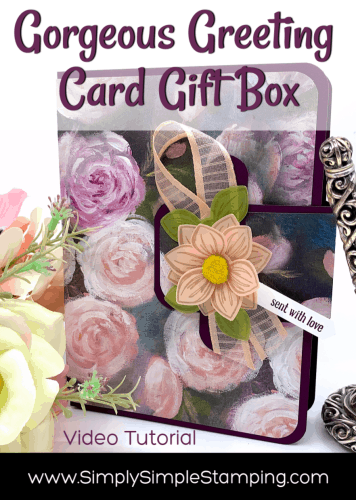 How to Create a Gorgeous Greeting Card Gift Box