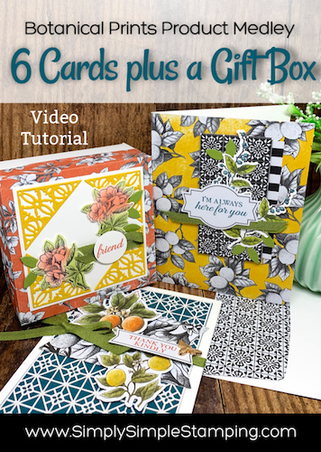 How to Create 6 Fabulous Cards + A DIY Gift Box!