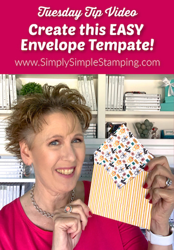 How to Create an Easy Envelope Template!