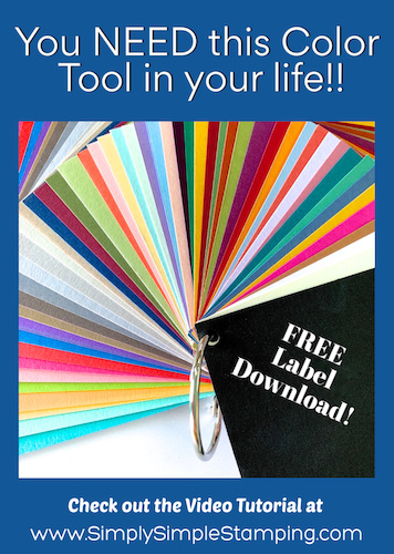 A New Color Coach Tool is Here | A Paper Crafter's Delight