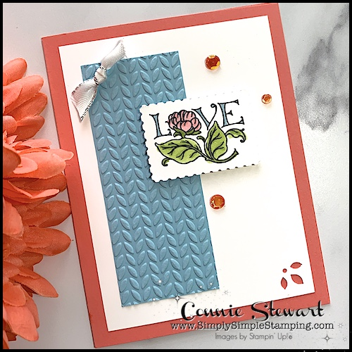 This love card is easy to make and so adorable too.