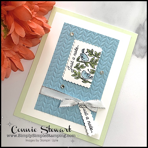 Easy to make cards don't have to be difficult to make.