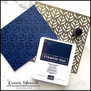 diy-card-backgrounds-with-sponge-dauber-leaf-pattern-tone-on-tone-ink