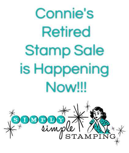 Connie's Red, White, & Blue Retired Stamp Sale