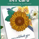 happy-birthday-diy-card-with-sunflower