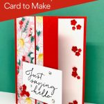 Want a simple card making idea for a 'Hello' Card?