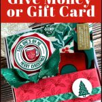 Fun Way to Give Money or Gift Card