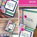 Fun Fold Card Idea that Packs a WOW