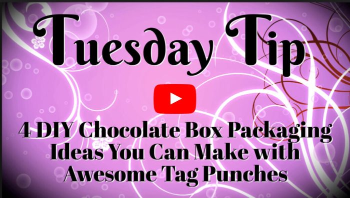 This paper crafting video tutorial will teach you how to DIY chocolate box packaging that's affordable and super sweet.
