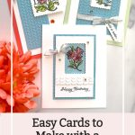 Easy Cards to Make with a Terrific Stamp Set