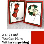 A DIY Birthday Card You Can Make With a Surprising Household Item