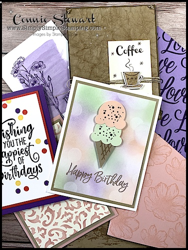 12 amazing greeting card backgrounds that work for birthday cards, masculine cards and more!