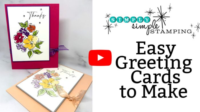 Easy Greeting Cards Video Tutorial