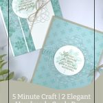 5 Minute Craft | 2 Elegant Handmade Cards Done in 10 Minutes